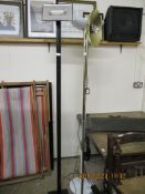 THREE VARIOUS FLOOR STANDING LAMP STANDS