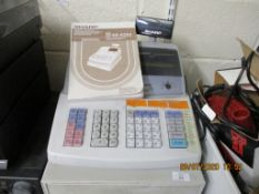 SHARP XE-A203 ELECTRONIC CASH REGISTER, COMPLETE WITH KEYS