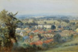 Frederick Dove Ogilvie (1850-1921), Landscape, signed and dated 1909 lower right, 25 x 35cm