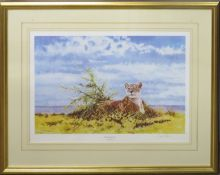 "Dharbinder S Bamrah (1965-2007), ""Spirit of Born Free"", coloured artist's proof, signed, numbered"