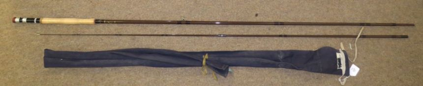 Vintage Bruce & Walker two-piece fishing rod