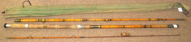 Vintage Falcon three piece fishing rod