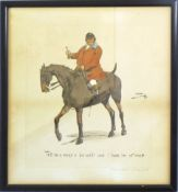 """Charles Johnson Payne """"Snaffles"""", """"Tell me a man's a fox 'unter and I loves im at once"""", coloured"""