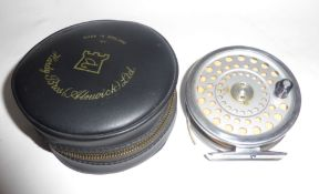 House of Hardy Marquis 8/9 reel in Hardy zip case