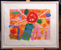 """•AR Albert Irvin (1922-2015), """"O'Connell"""", screen print, signed, dated 95, numbered 66/225,"""