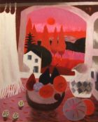 "•AR Mary Fedden, OBE, RA, RWA (1915-2012), ""Sunset in France"", oil on canvas, signed and dated"