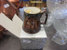 """BOXED GREAT YARMOUTH POTTERY LIMITED EDITION NORWICH CATHEDRAL """"900"""" COMMEMORATIVE MUG NUMBERED"""