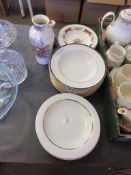 SELECTION OF PLATES TOGETHER WITH A MASON'S WATER JUG ETC