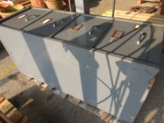 FOUR DRAWER METAL FILLING CABINET
