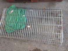 METAL DISASSEMBLED METAL CAGE LENGTH APPROX 120CM