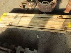 QTY TIMBER, VARIOUS SMALL BATTENS APPROX 80CM