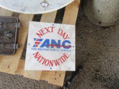 VINTAGE PROMOTIANL WALL CLOCK FOR ANC PARCEL SERVICE