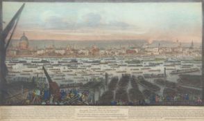 "After John Thomas Smith, engraved by the same, ""An accurate view - of London and Westminster from"