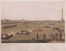 "After C J W Winter, ""Grand Review of Volunteers at Great Yarmouth, June 19th, 1862"", coloured"