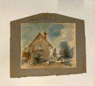 •AR Arthur Edward Davies RBA, RCA, (1893-1988), Norfolk Views etc, large leather bound album