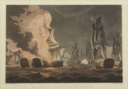 "After T Whitcombe, engraved by T Sutherland, ""Destruction of the French Fleet at Toulon, Dec 18th"