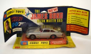 1960s Corgi Toys James Bond Aston Martin DB5 model no 270, in original blister packaging