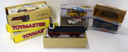 Quantity of Corgi boxed vehicles including limited edition Toymaster vans, Bedford box van and