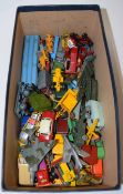 Quantity of mainly Matchbox and Lesney vehicles circa 1950s/60s