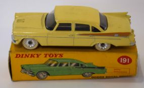 Dinky Dodge Royal Sedan model no 191, in original box
