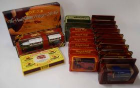 Quantity of Matchbox Models of Yesteryear to include two Harrods edition models, together with Royal