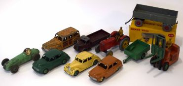 Group of Dinky vehicles to include trailer model no 428 in original box