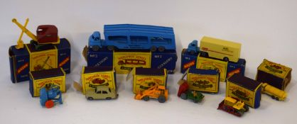 Group of Matchbox series vehicles mainly commerical, to include Matchbox Major No 4, Matchbox