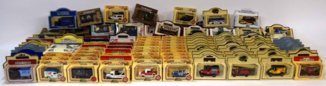 Large quantity of Ledo Days Gone By boxed vehicles circa 1980s (approx 125)