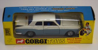 Corgi Toys Rolls Royce HJ Mulliner Park Ward Silver Shadow model no 273, in original box