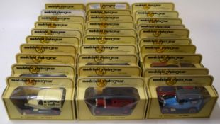 Quantity of thirty Matchbox Models of Yesteryear to include Talbot van, Model T Ford and Ford A van,