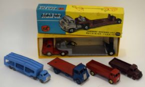 1960s Corgi Toys Carrimore detachable axle machine carrier model no 1104, in original box,