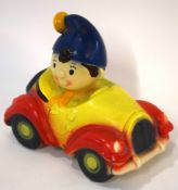 Circa 1970s Elgreve Pottery novelty Noddy car money box