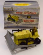 1950s Dinky Supertoys Blaw-XNOX bulldozer model no 961, in original blue and white striped box