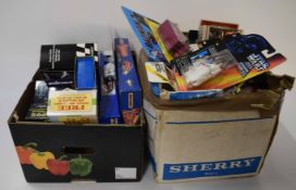 Two boxes containing mainly 1990s/early 2000 Matchbox, Corgi etc all in original boxes, to include