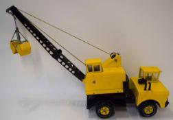 Vintage circa 1970s large Tonka crane truck