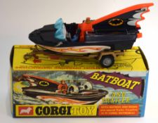 1960s Corgi Toys Bat boat model no 107, in original box