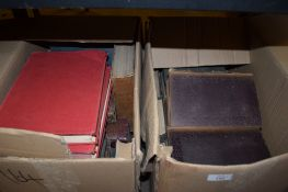 BOXES OF BOOKS INCLUDING THE WONDERLAND OF KNOWLEDGE, VARIOUS VOLUMES