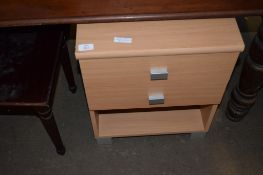 MODERN OFFICE OR BEDSIDE CABINET, 43CM WIDE