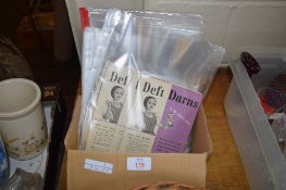 "SEWING ITEMS AND MAGAZINES ""DEFT DARNS"" AND ""LOOK AFTER YOUR WOOLLENS"""