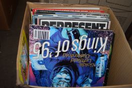 BOX OF MAINLY MUSIC MAGAZINES