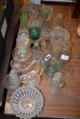 QUANTITY OF MISCELLANEOUS GLASS WARES