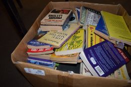 BOX CONTAINING MAINLY PAPERBACK BOOKS