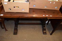 OAK DRAW LEAF DINING TABLE, 107CM WIDE