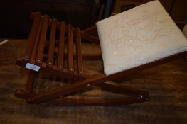 REPRODUCTION GOUT STOOL, 52CM WIDE