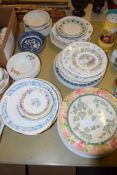 QUANTITY OF CHINA PLATES INCLUDING ROYAL DOULTON SUMMER FROM BRAMBLEY HEDGE COLLECTION, DOULTON