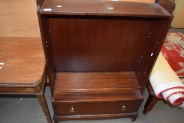 REPRODUCTION MAHOGANY BOOKCASE CABINET, 76CM WIDE
