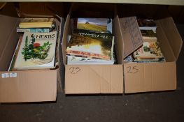 BOX OF BOOKS, MAINLY SOFT BACK TITLES