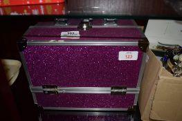PINK LUSTRE TRAVELLING CASE