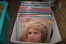 BOX OF RECORDS, MAINLY LPS