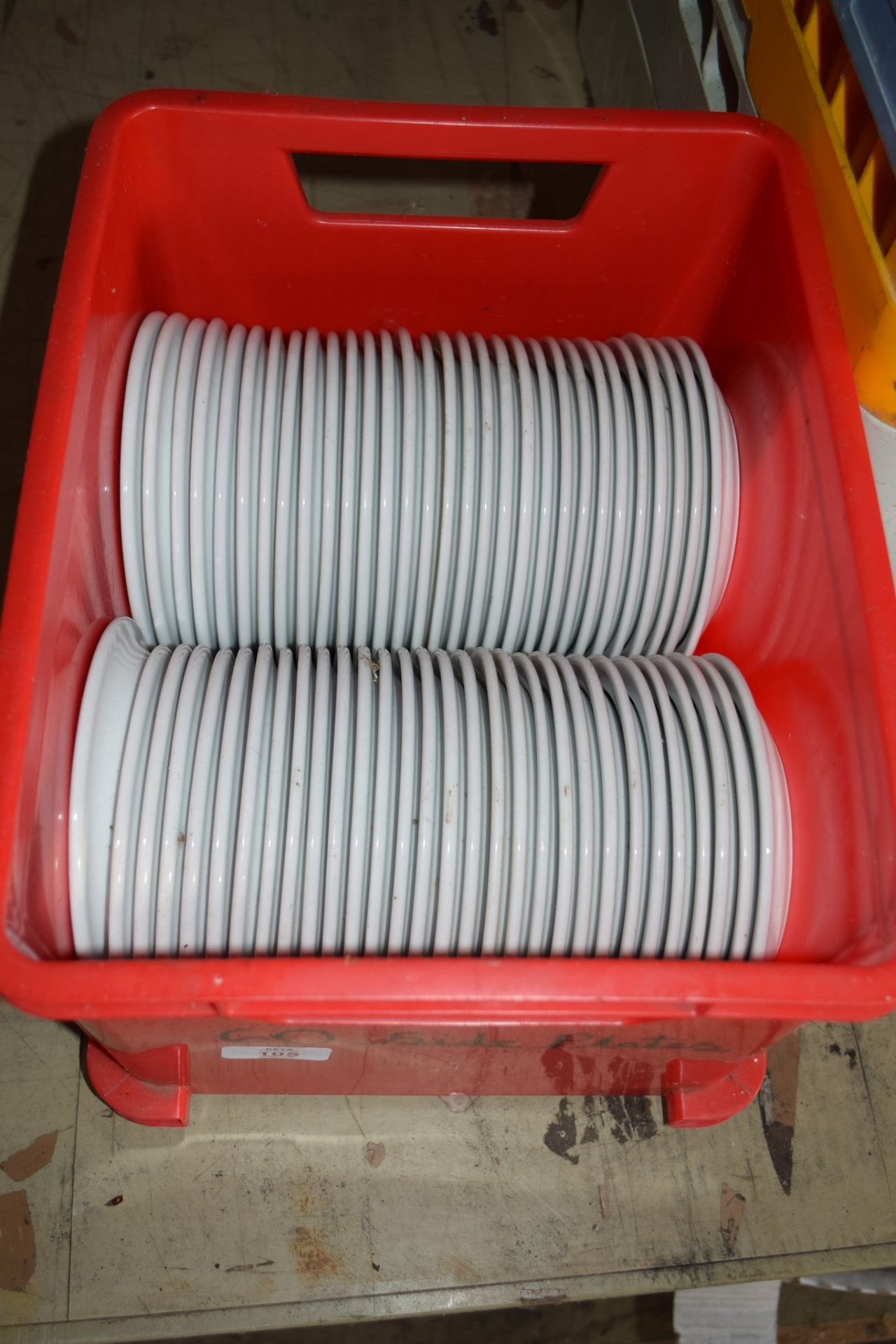 Crate: 60 Side Plates.